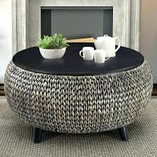 rattan trunk coffee table round wicker coffee tables image of round rattan coffee table with glass rattan trunk coffee table