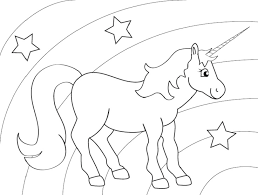 Unicorn Coloring Pages To Print At Getdrawingscom Free For