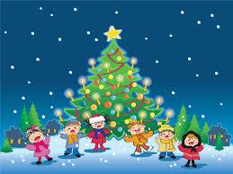 Image result for cartoon image kids christmas