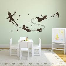 aliexpress tinkerbell peter pan wall decal removable kid saveenlarge