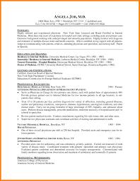 Resume Objective For Med School Najmlaemah Com