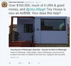 tiny house loans. Screen Grab From @AltHistories Twitter Account Tiny House Loans