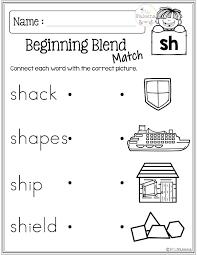 Resources Phonics Blends Worksheets Beginning Sounds Worksheet Pl Bl ...