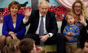 Boris johnson fathered a fifth child with helen macintyre in 2009. The Wheels On The Boris Bus Go Round And Round And Then Come Off Marina Hyde The Guardian