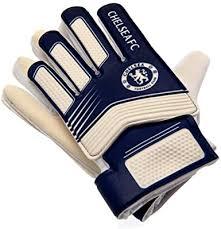 550 x 550 jpeg 47 кб. Amazon Com Chelsea Fc Kids Goalkeeper Gloves One Size Blue White Clothing