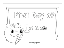 Coloring Pages For First Graders Welcome To Grade Coloring Page