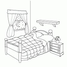 living room clipart black and white. drawn cartoon bed pencil and in color living room clipart black white