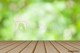 wood table perspective. Simple Table Wooden Board Empty Table Perspective Brown Wood Over Blurred Trees  With Bokeh Background  Can To Wood Table T