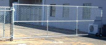 chain link fence rolling gate parts. Double Gate Chain Link Fence 6 Foot A  Commercial . Rolling Parts L