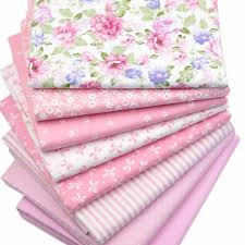 Pink Cotton Fabric For Quilting & Patchwork (8 Piece Lot ... & Pink Cotton Fabric For Quilting & Patchwork (8 Piece Lot) Adamdwight.com
