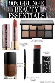 90 s grunge makeup essentials