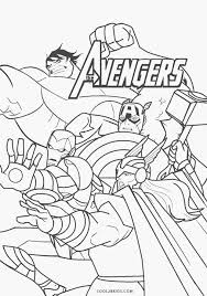 In order to navigate out of this carousel please use your heading. Avengers Coloring Pages Cool2bkids