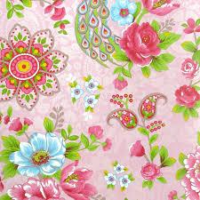 Pip Studio Behang Flowers In The Mix Roze Behangnr 313053