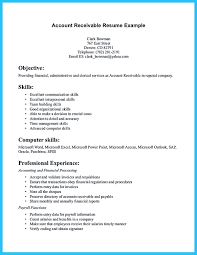 Examples Of Skills And Abilities For Resumes Accounts Receivable Job Resume Sample Supervisoranada