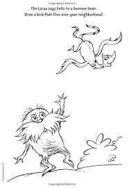 Top Dr Seuss Coloring Pages Lorax Galleries Printable Coloring