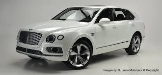 2018 bentley bentayga white. beautiful bentley stock 17870n new 2018 bentley bentayga w12  st louis missouri 63005  louis motorcars on bentley bentayga white