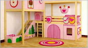 girls bunk bed design inspiration brown pink swing and slide pretty kids bedroom ideas black bedroom furniture girls design inspiration