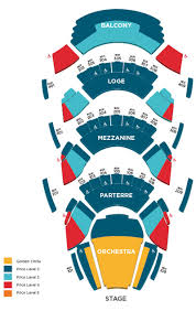 Ellie Caulkins Opera House Seating Chart Theatre In Denver