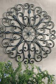 outdoor wall art wrought iron large sun metal decoration ideas diy cheap buying the  on large metal patio wall art with photo of patio wall art ideas outdoor diy pinterest wal