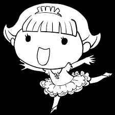 目指せプリンシパルバレエでアラベスクのポーズで楽しそうな女の子