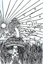 Psychedelic Sun Coloring Pages Coloring Pages