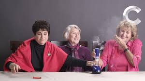 Grandmas Smoking Weed for the First Time YouTube
