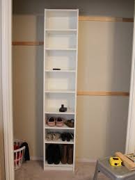 how to build your own closet built ins using a billy bookcase ikea