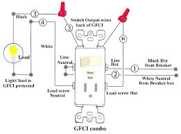 outlet switch combo wiring diagram floralfrocks how to add an outlet to a switch at Combination Switch Wiring Diagram