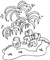 Small Picture fireworks coloring page launched fireworks 4th of july fireworks