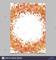 Blank Abstract Confetti Circle Poster Background Template