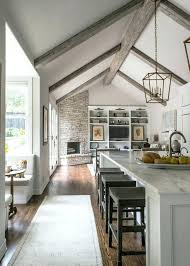 vaulted ceiling kitchen lighting. Contemporary Vaulted Vaulted Ceiling Kitchen Lighting Open Concept Traditional L Inside