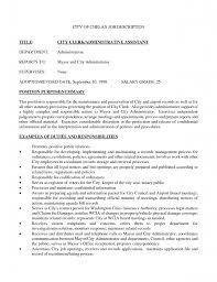 Administrative Assistant Job Description For Resume Administrative Assistant  Job Description For Resume