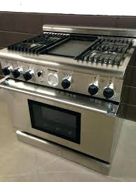 stove with griddle. Gas Cooktop With Grill And Griddle Dual Fuel Range Stove Pro Grand