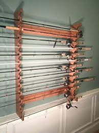 wall mount fishing pole holder wall mounted rod rack built by rods rest wall mount rod wall mount fishing pole holder