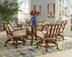 Leikela Rattan Tropical Dining Furniture Set C29 Sewstars