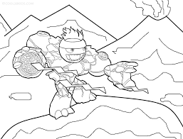 Small Picture Skylander giant coloring pages download and print for free