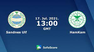 Sandnes Ulf HamKam live score, video stream and H2H results - SofaScore