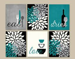 more colors kitchen wall art print set  on black wall art for kitchen with kitchen wall art etsy