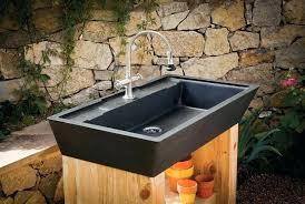outdoor sink image result for outside wash basin diy outdoor sink powered by a water hose