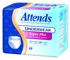 Attends Underwear Pull Ups Super Plus