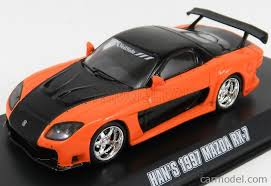 mazda rx7 fast and furious. greenlight 86212 scale 143 mazda hanu0027s rx7 coupe 1997 fast u0026 mazda rx7 fast and furious