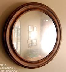 diy looking glass spray paint mirror