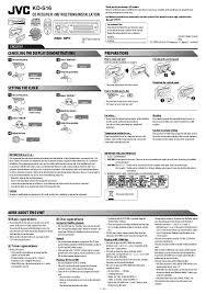 JVC KD- R530 Manual stunning jvc kd r200 wiring diagram photos everything you need to