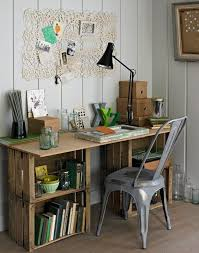 why should you have a plain boring desk if there are a lot of diy desk
