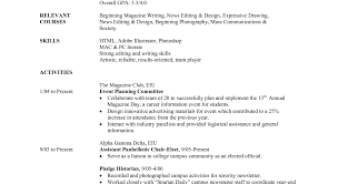 How To Write A College Student Resume Summary For Students As