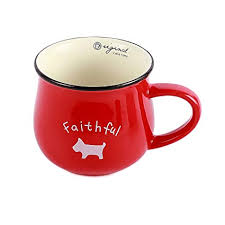 unique shaped coffee mugs. Beautiful Coffee Neolith Red Ceramic Mug With Random Animal Pattern Dog Ladybug Elephant  Sheep Cat Mugs Gift Box On Unique Shaped Coffee