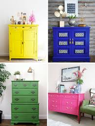 colorful painted furniture. Fine Colorful Bright Painted Furniture To Colorful D