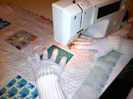 Should You Use Gloves For Quilting? Five Reasons Why We Vote Yes! & Using Machingers Quilting Gloves Adamdwight.com