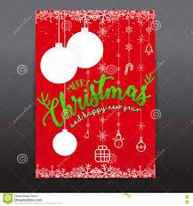Scrapbooking Christmas Cards Designs Christmas Card Templates Christmas Posters Set Vector