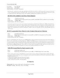 Project Engineer Resumes Electrical Project Engineer Resume Project ...